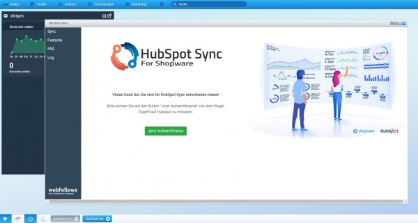HubSpot Sync für Shopware 5